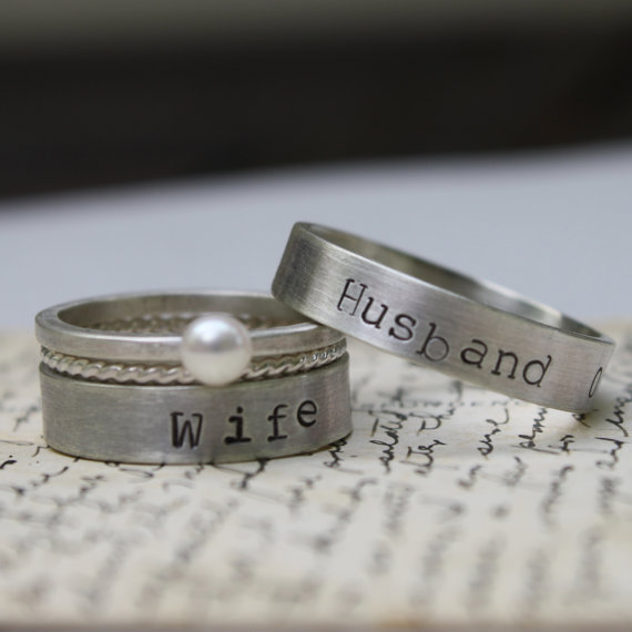 PlanYourWedding 25 Unconventional Wedding Bands