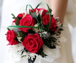 Preserved Flower Bridal Bouquet