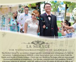 La Mirage - Garden Wedding Package