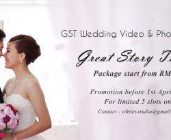 GST Wedding Video & Photo Package