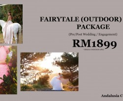 FAIRY TALE (OUTDOOR) COUPLE PACKAGE