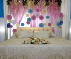 Malay Modern Reception Decorations fanwheel bedroom 22812