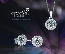Not Applicable Modern Not Applicable Jewelries Estrella Diamond 100156