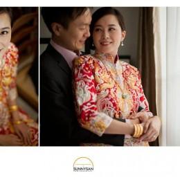 April & Jun Chih's Wedding Day