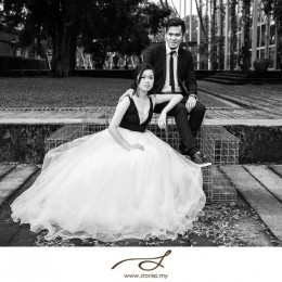A Funky Pre-wedding In KLPAC: Kenny & Grace