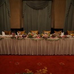 Modern Chinese Wedding Reception Decoration