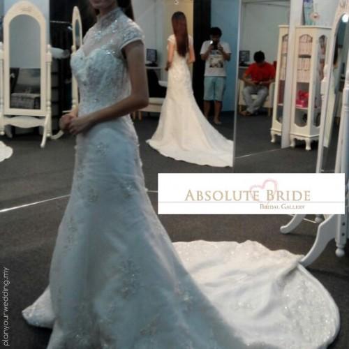 Mandarin Bridal Gown Cheongsam