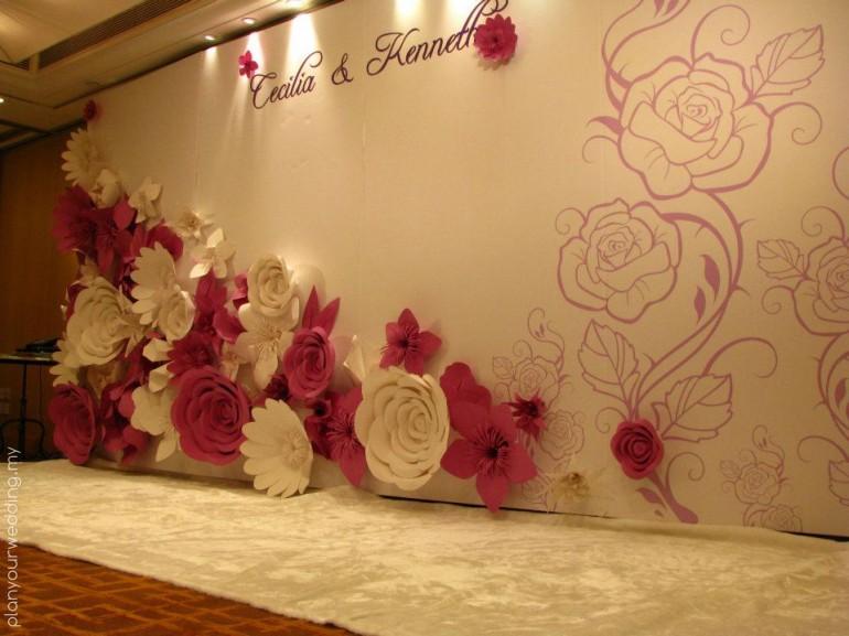 Personalised Wedding Backdrop Photo Booth