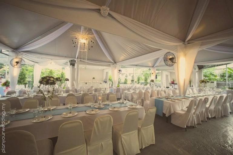 Planyourwedding your wedding ideas and inspiration outdoor indoor exclusive garden wedding venue in kuala lumpur junglespirit Images