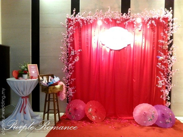 Planyourwedding your wedding ideas and inspiration photo booth sakura theme junglespirit Image collections