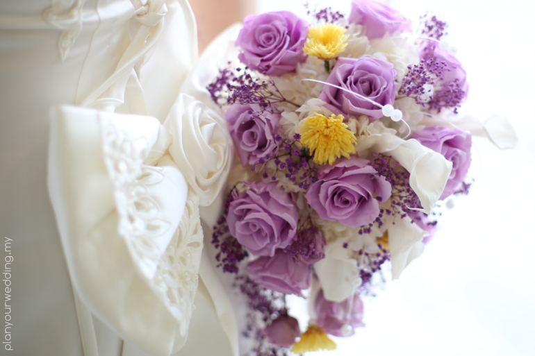 LavieFlo Preserved Bridal Bouquet
