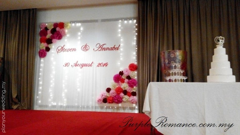 Stage Backdrop Decor 2