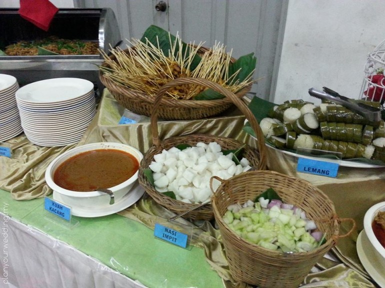 Malay Wedding Catering Tudongsajicatering Pictures9