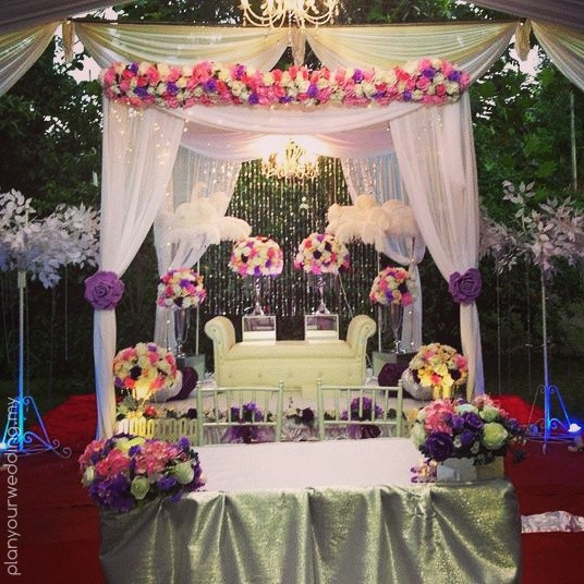 Planyourwedding your wedding ideas and inspiration garden wedding kinarut junglespirit Image collections
