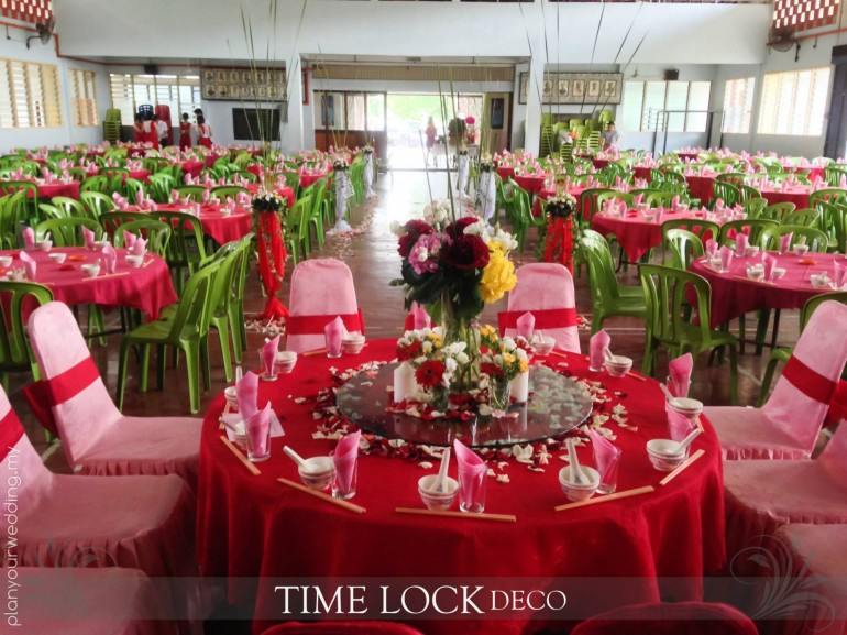 Oriental And Western Theme Wedding Decoration