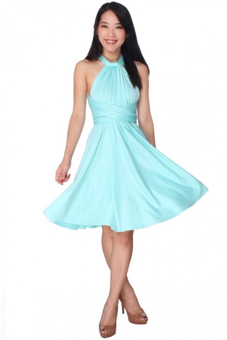 08a566d294c ... COVETZ Kaelyn Convertible Dress - Tiffany Mint ...